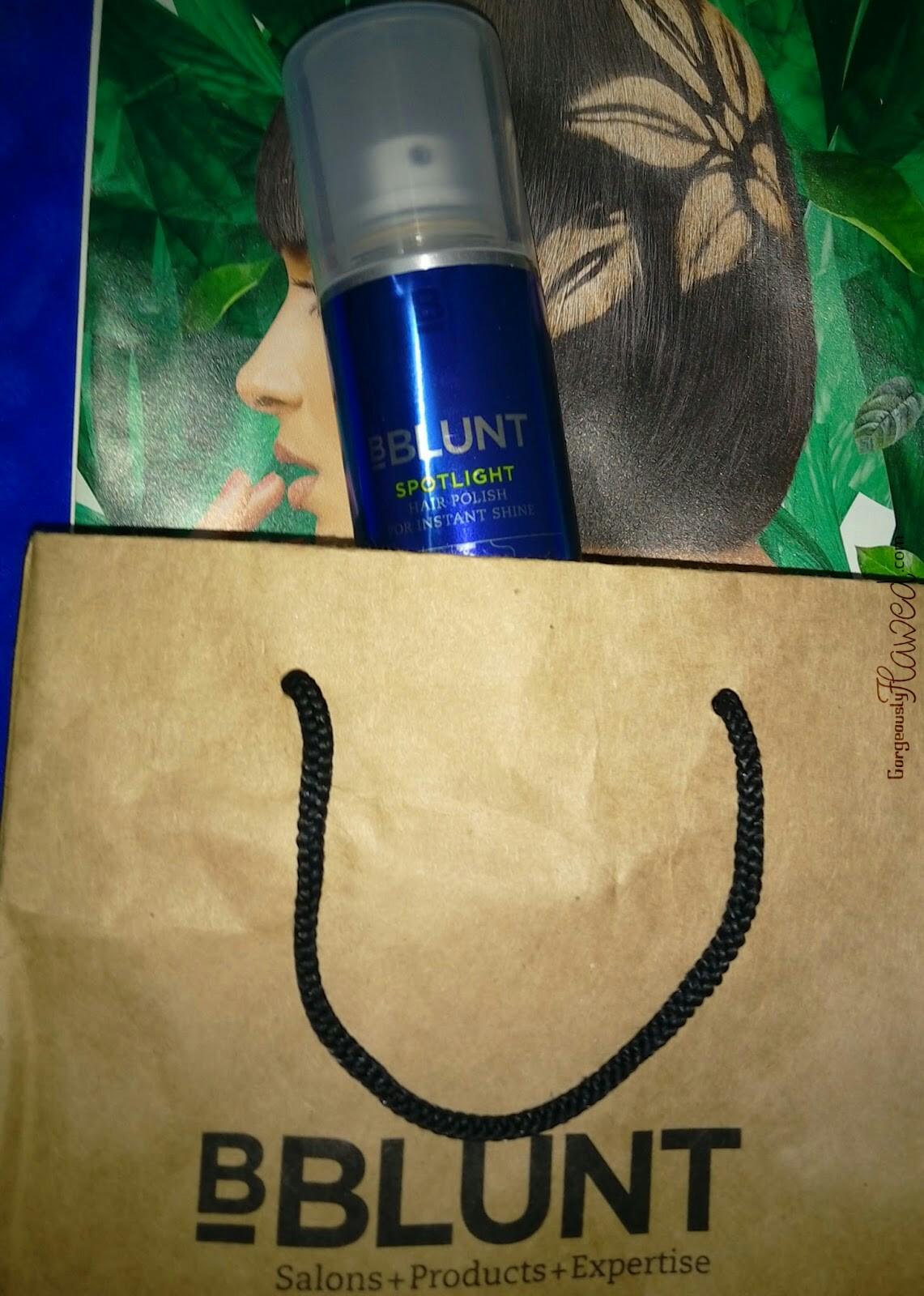 BBLUNT Spotlight Hair Polish