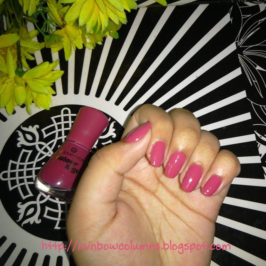 Essence Colour & Go Nail Polish - English Rose