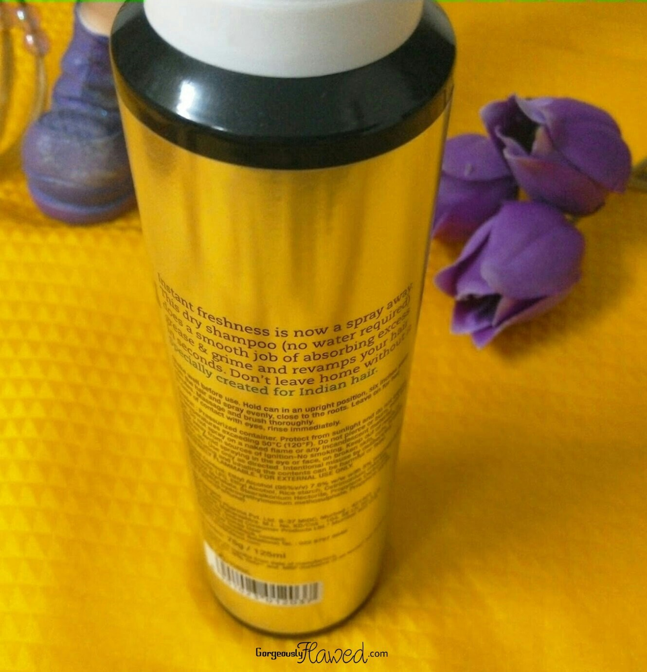 Review | BBLUNT Back To Life Dry Shampoo - For Instant Freshness!