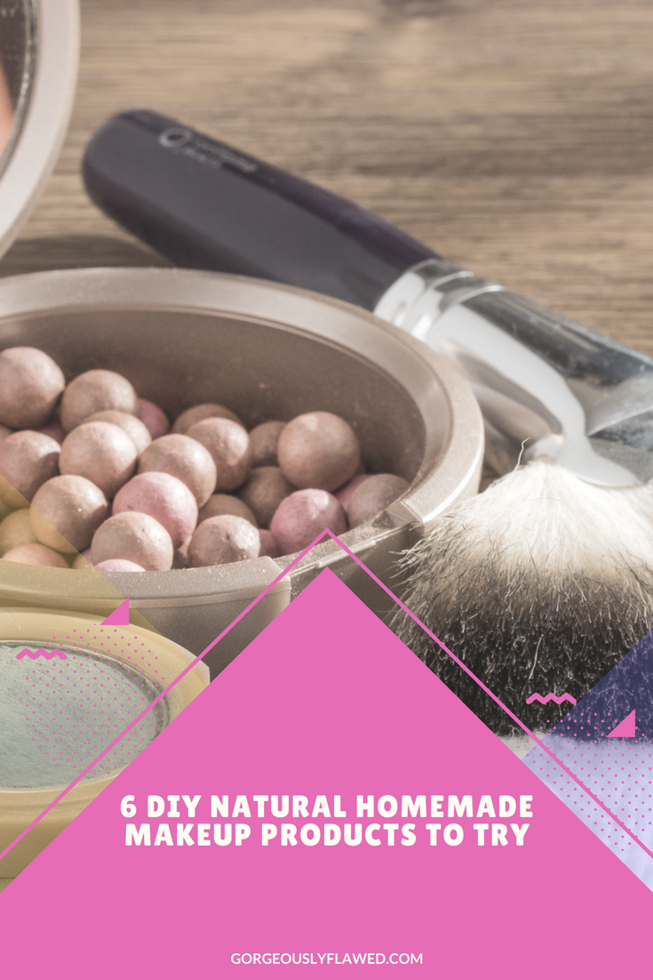 6 DIY Natural Homemade Makeup Products To Try