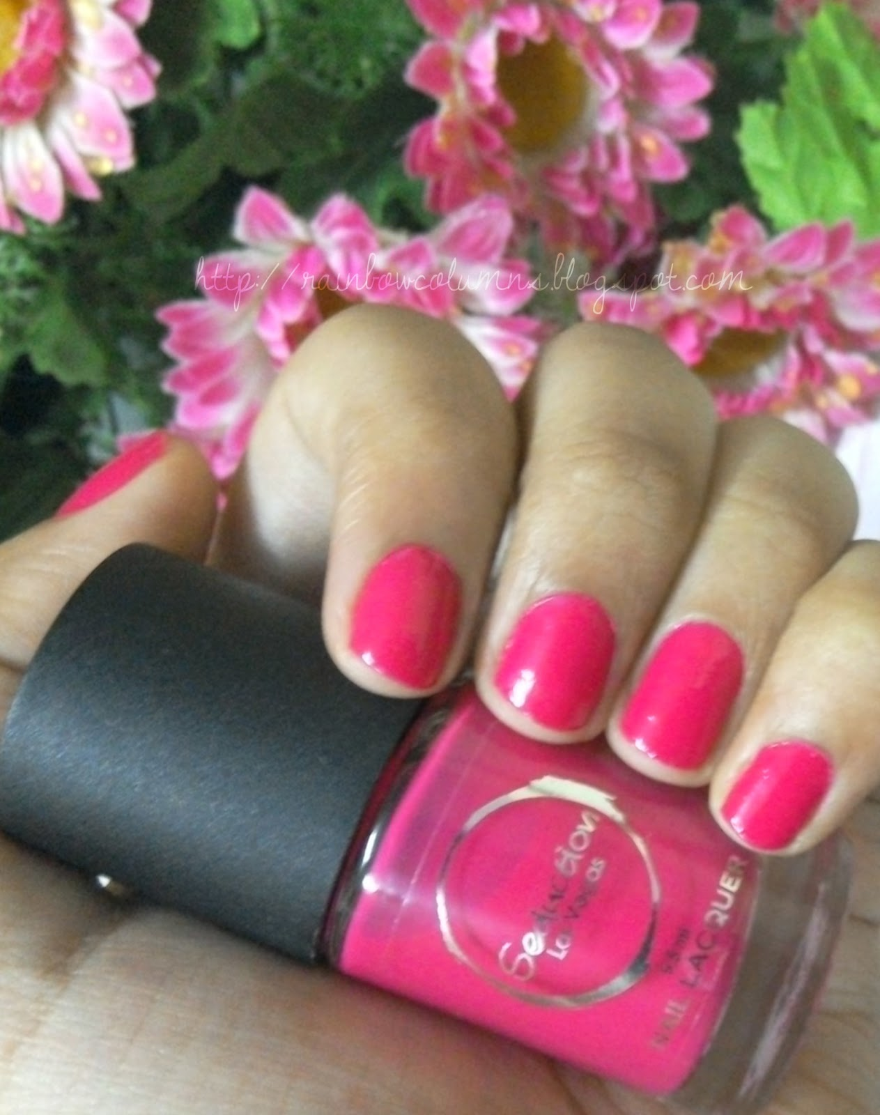 Review & Swatches | Seduction Las Vegas Nail Lacquer - Lust