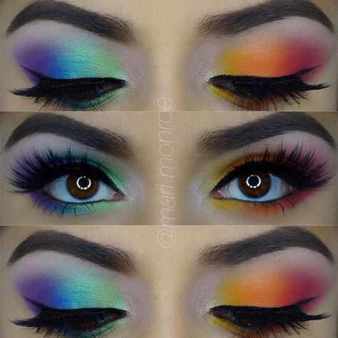 Are You Bold Enough To Try These 15 Statement Eye Makeup Looks? 11