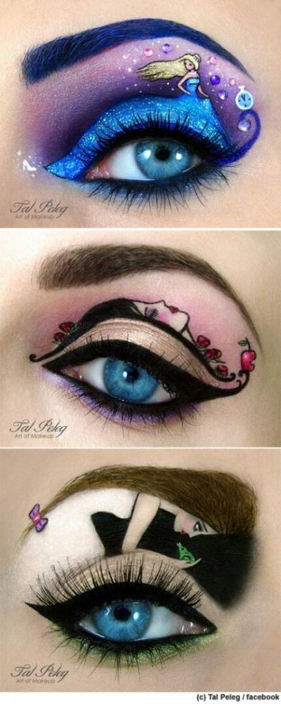 Are You Bold Enough To Try These 15 Statement Eye Makeup Looks? 13