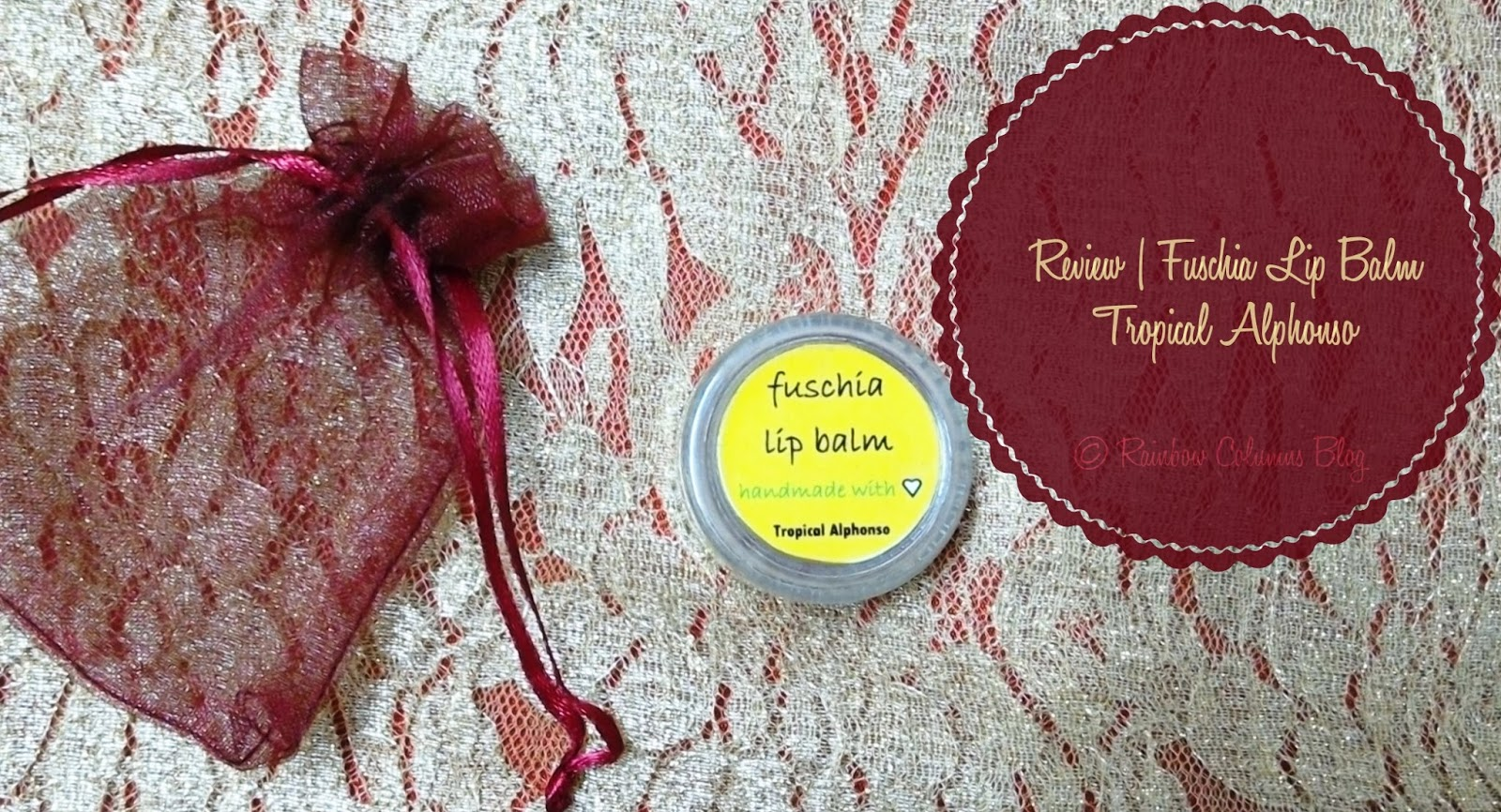 Fuschia Lip Balm - Tropical Alphonso