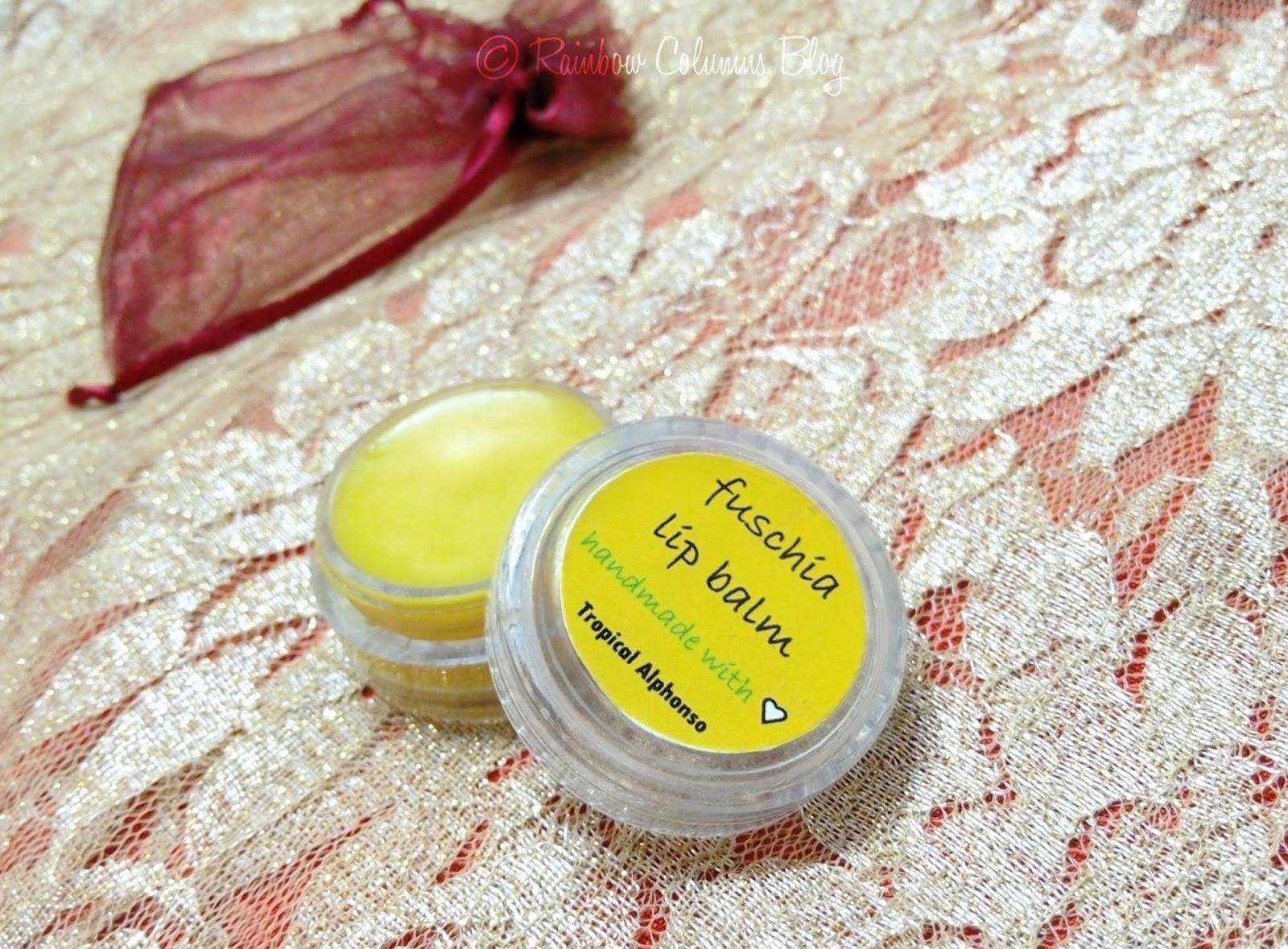 Fuschia Lip Balm - Tropical Alphonso