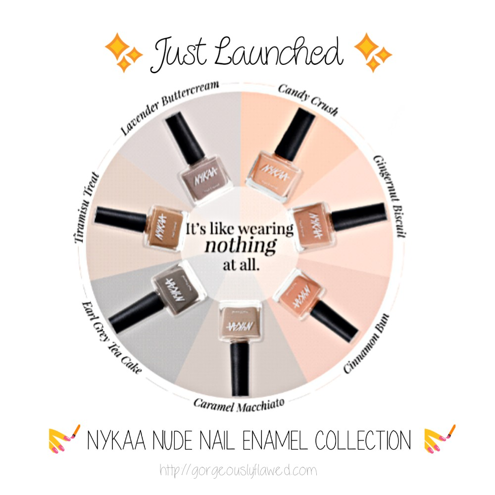 NYKAA Nude Nail Enamel Collection | Quantity - 10 ml | Price - 149