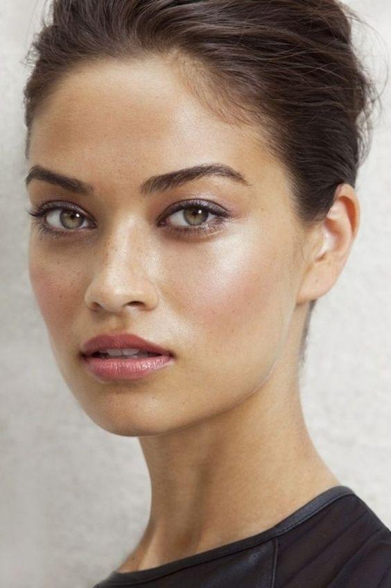 Beautiful makeup looks   dewy makeup look