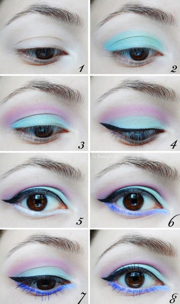 Beautiful makeup looks   Pastel eye makeup look