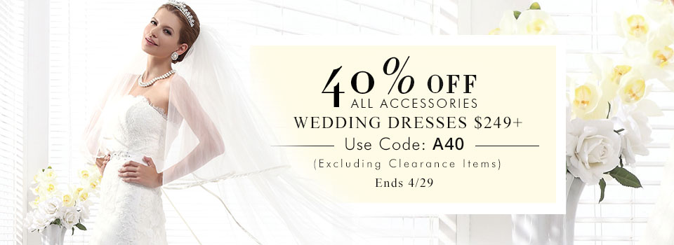 High Discount on wedding dresses from CocoMelody.com