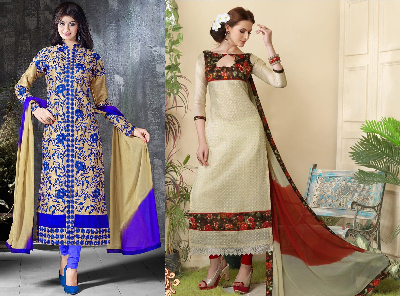 3293656d83 Chanderi Cotton Suits – A Must Have, In The Closet Of Cotton ...