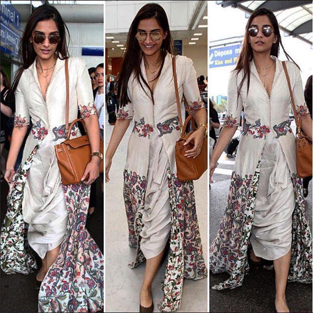 Sonam Kapoor Cannes 2016 | Sonam Kapoor Anamika Khanna Dress