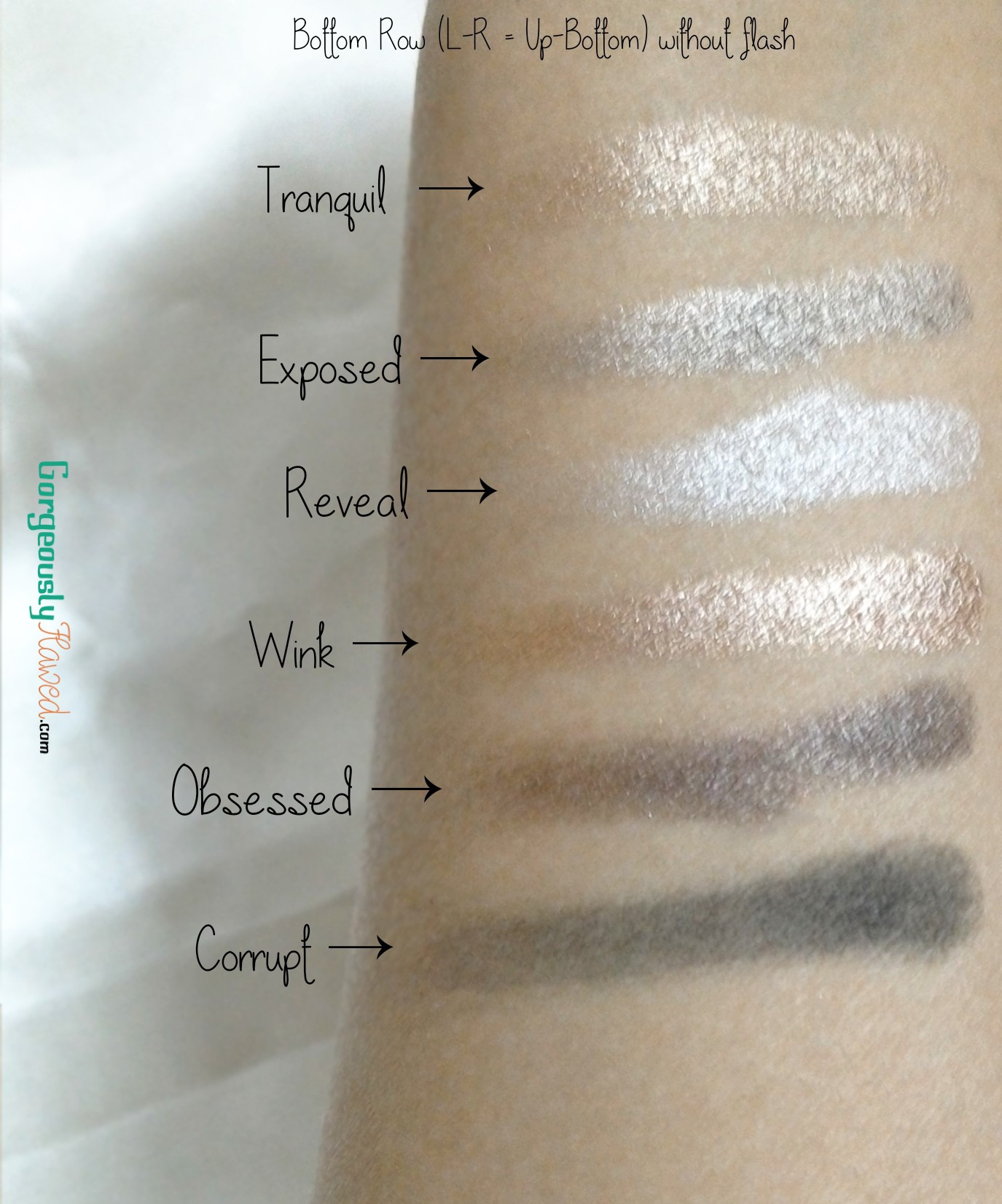 Review & Swatches | MUA Undress Me Too Eye Shadow Palette