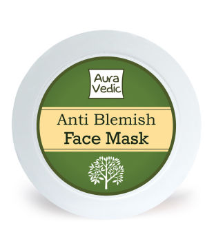 Best Face Packs For Oily, Acne Prone Skin | Auravedic Anti Blemish Face Mask