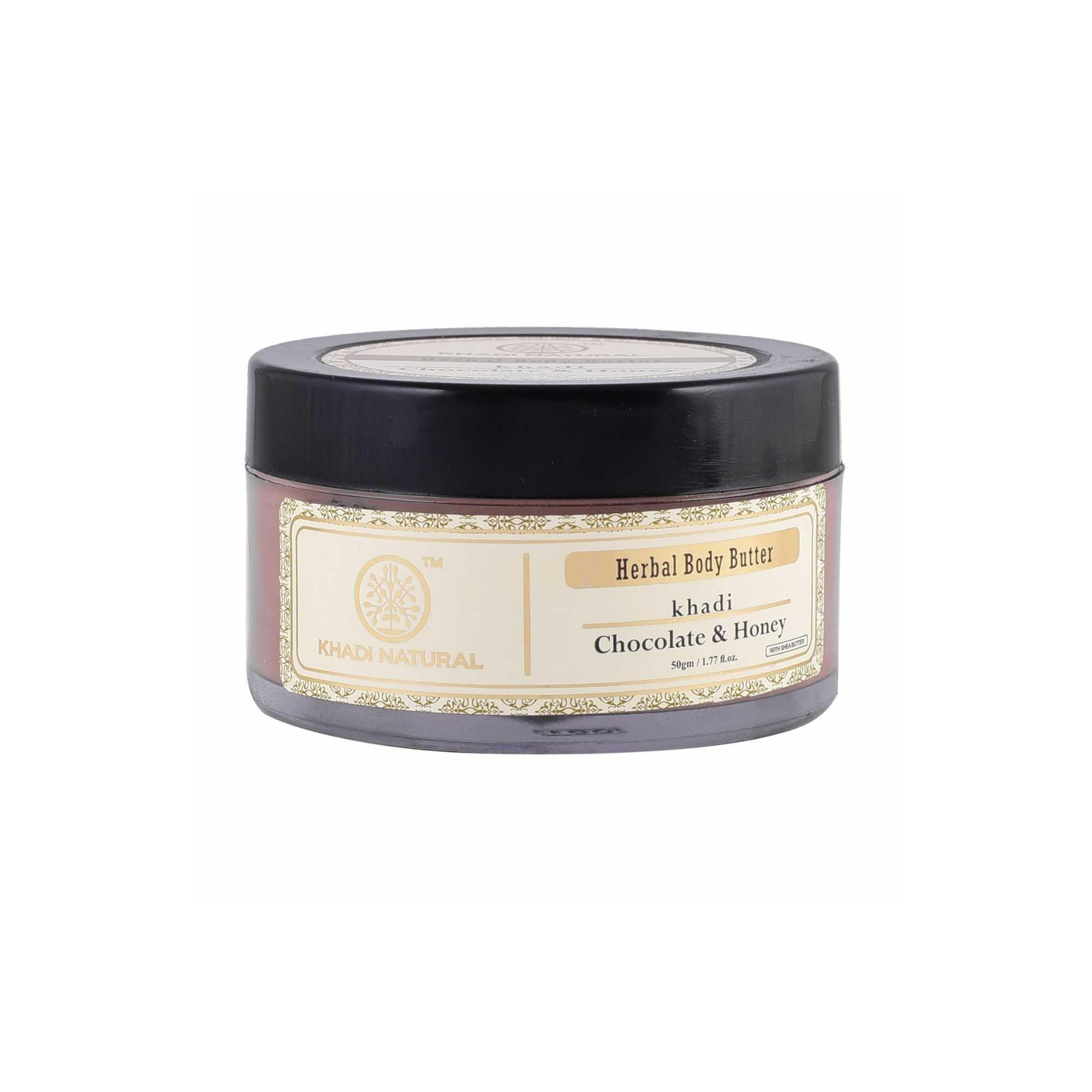 Khadi Natural Ayurvedic Chocolate Honey Body Butter - body butter under 200