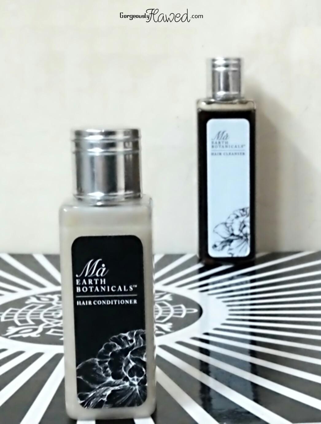 Ma earth botanicals hair cleanser hair conditioner