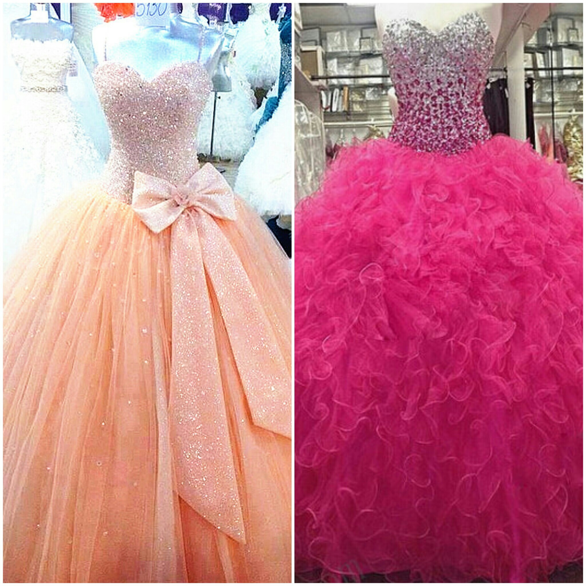 cheap quincera dresses