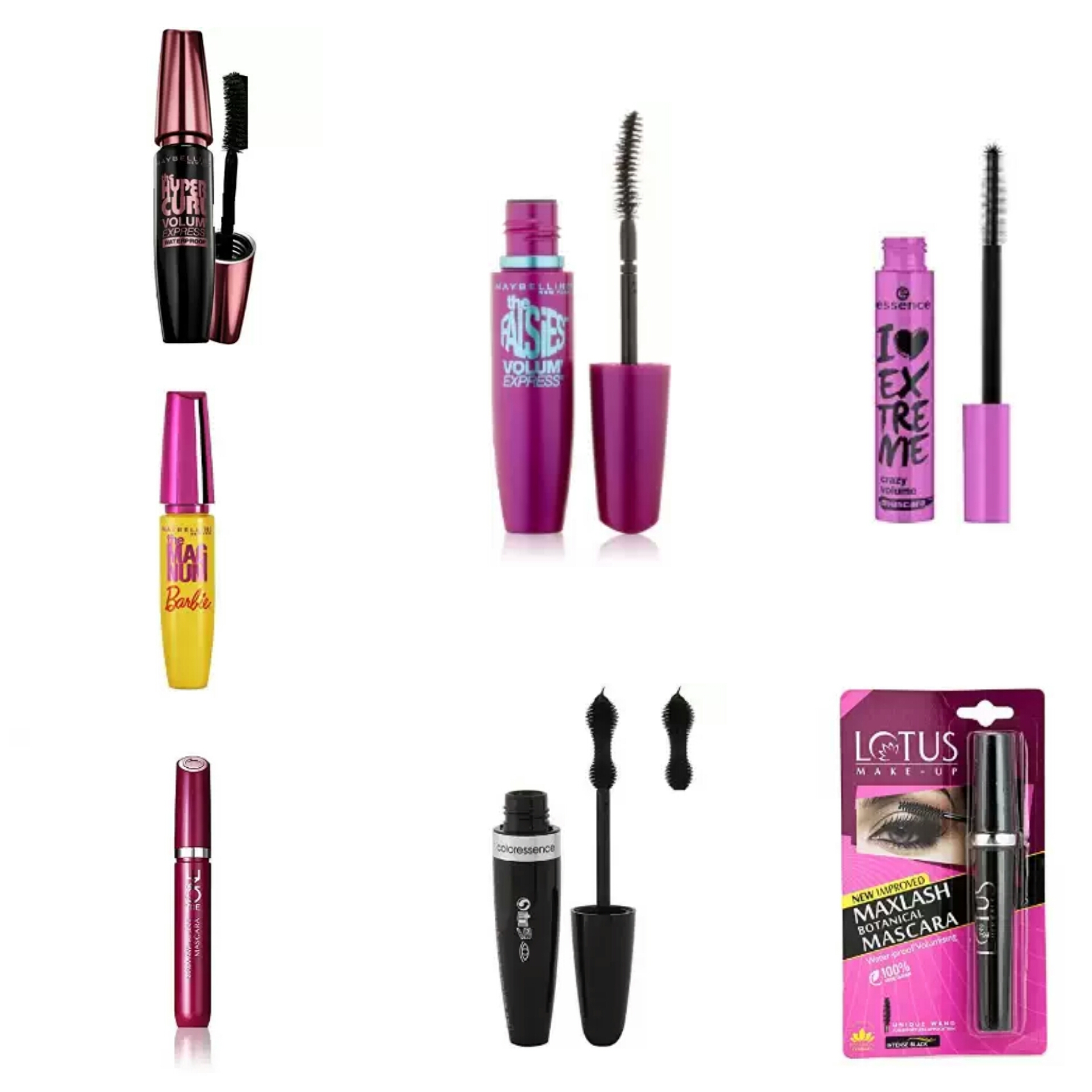 List of Affordable Makeup Products For College Going Girls | Affordable Mascara in India | Affordable Mascaras in India | Maybelline Mascaras in India |