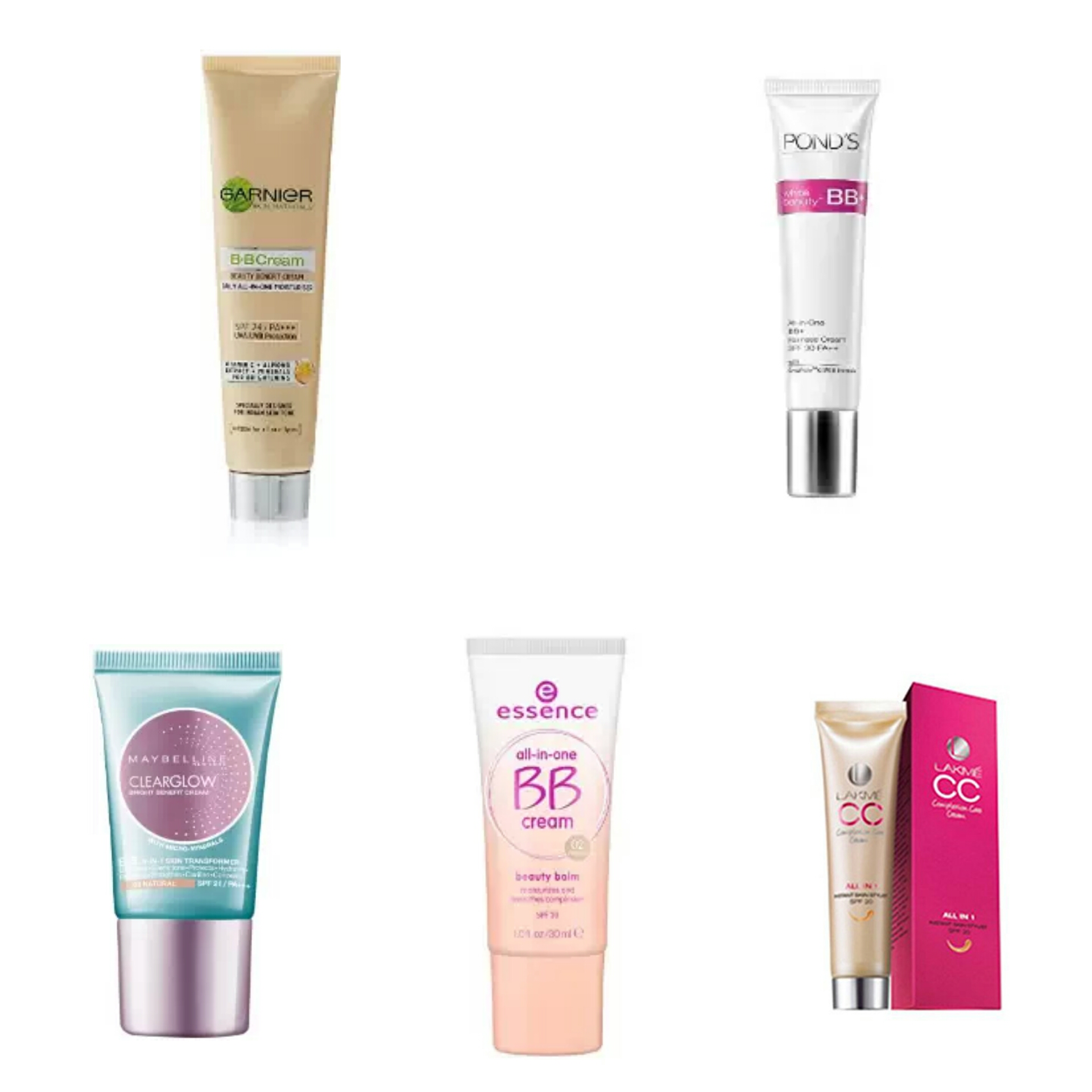 Affordable Makeup Products For College Going Girls | Affordable BB Creams In India | Affordable CC Creams In India