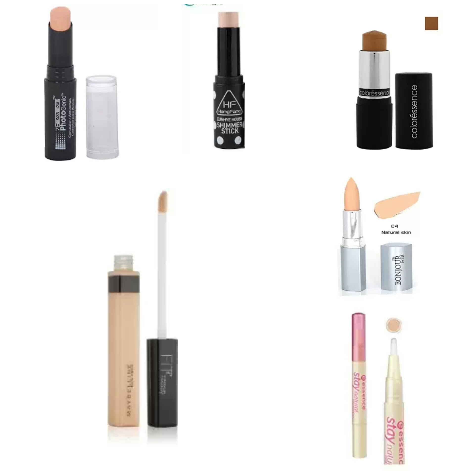 Affordable Makeup Products For College Going Girls   Affordable Concealers in India   Drugstore Concealers in India   High Coverage Drugstore Concealers In India