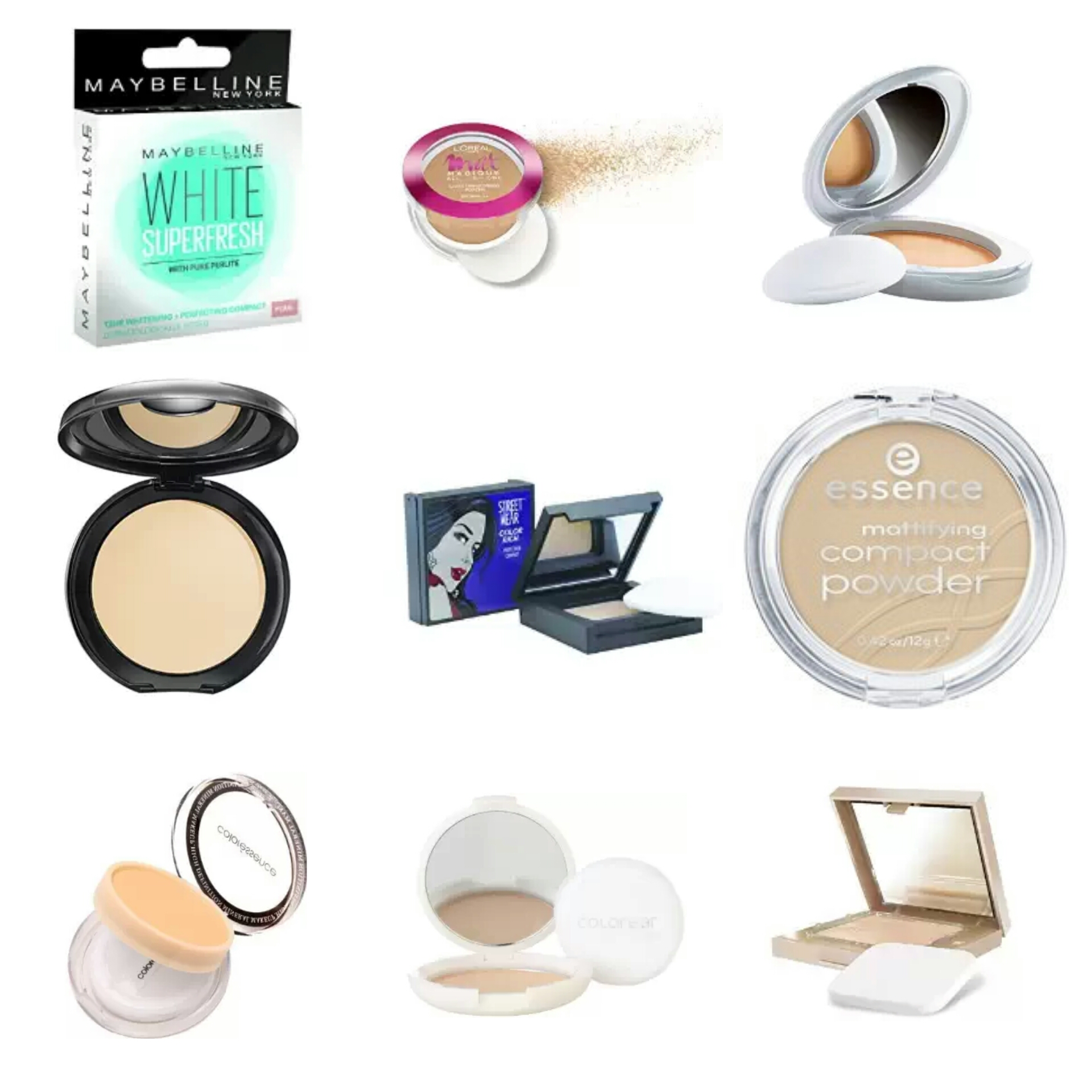 Affordable Makeup Products For College Going Girls | Affordable Pressed powders in India | Affordable Compact Powders In India | Best Pressed Powders In India | Best Compact Powders In India