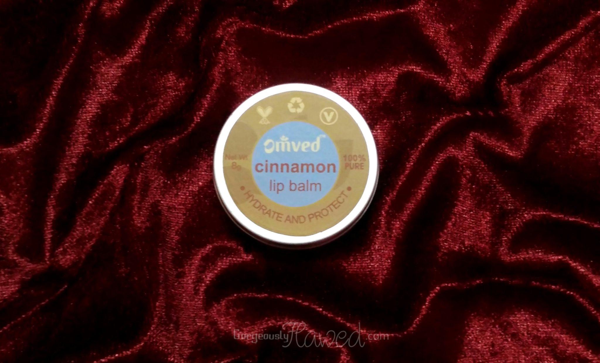 Omved Cinnamon Lip Balm