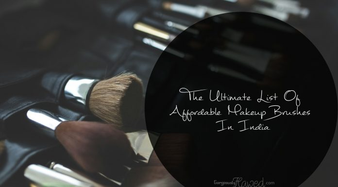 The Ultimate List Of Affordable Makeup Brushes In India