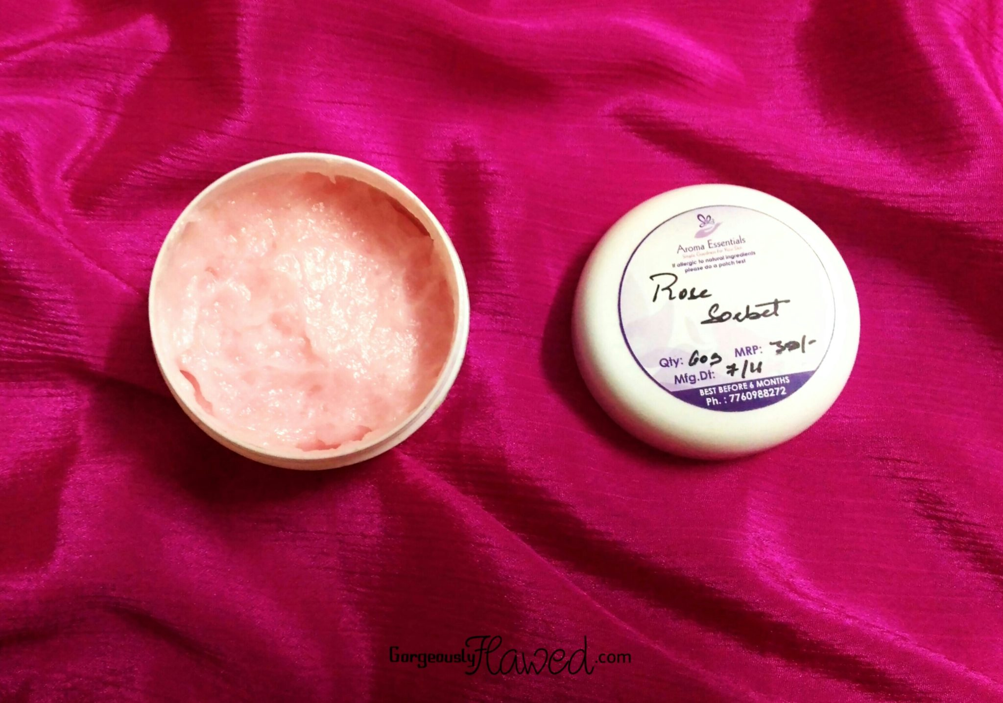 Aroma Essentials Rose Body Sorbet
