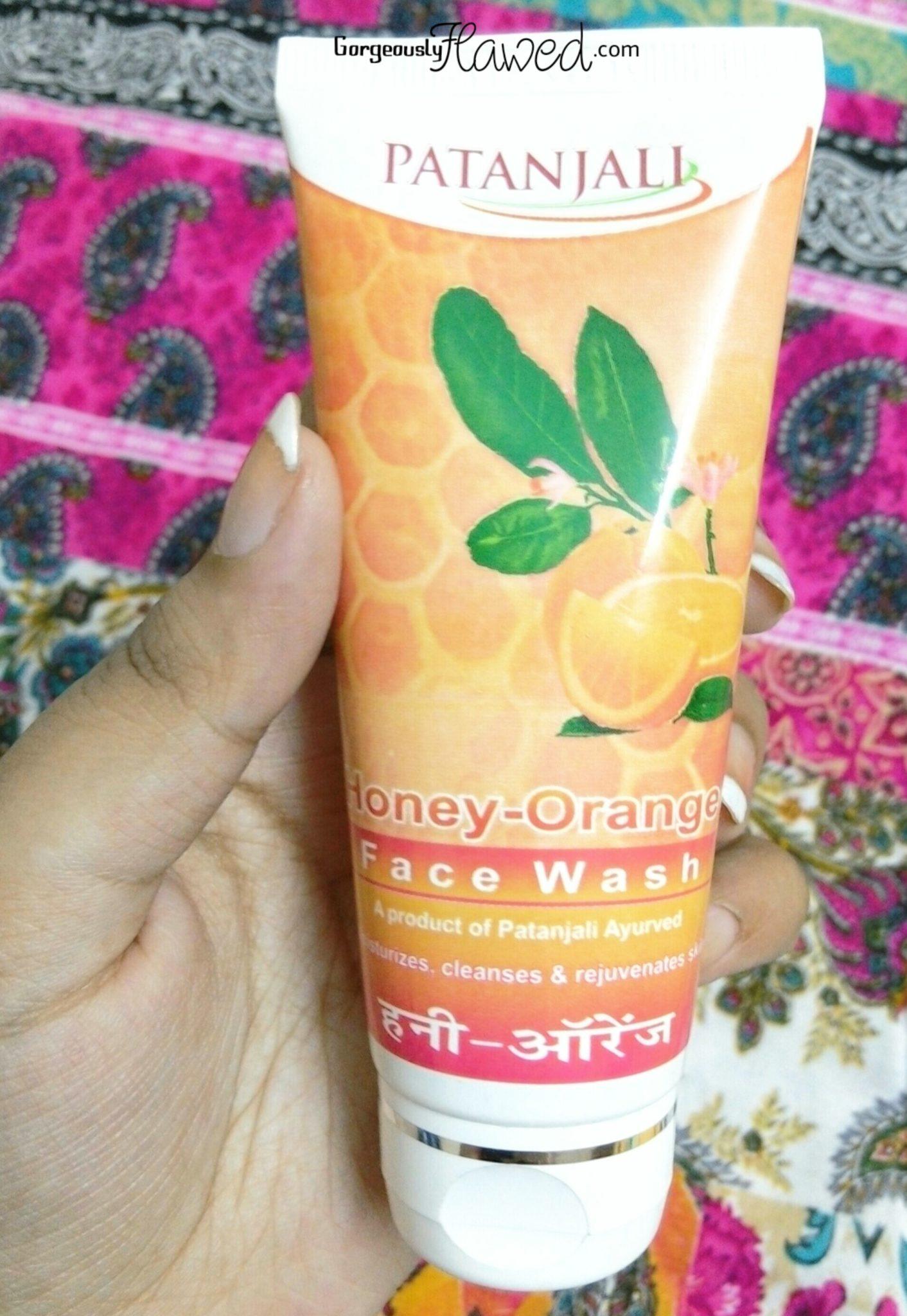 Patanjali Honey Orange Face Wash