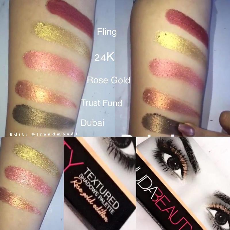 Huda Beauty Rose Gold Eyeshadow Palette