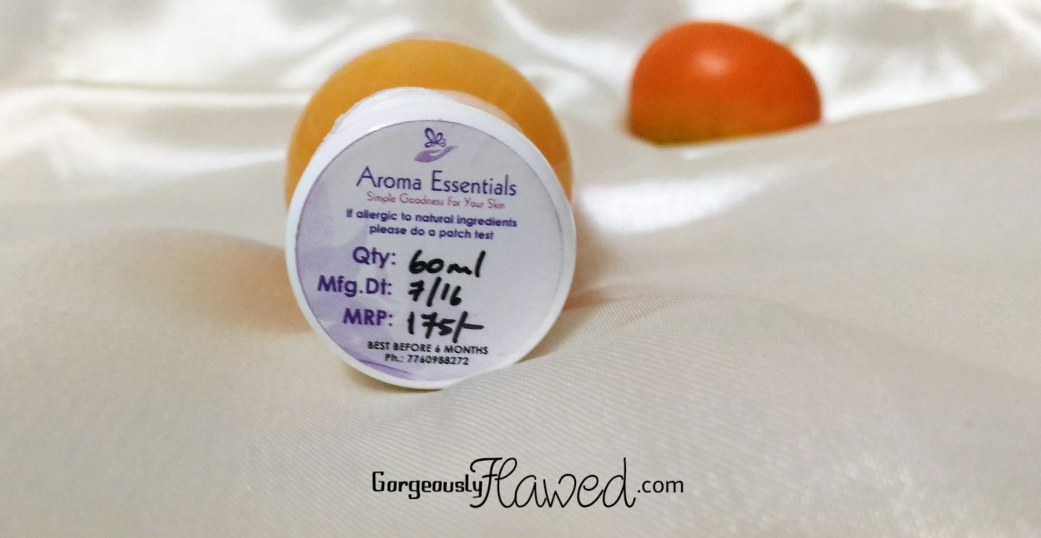 Aroma Essentials Orange Splash