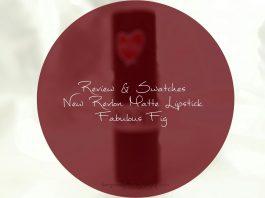 New Revlon Matte Lipstick Fabulous Fig