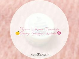 Aroma Essentials Orange Grapefruit Lipbalm