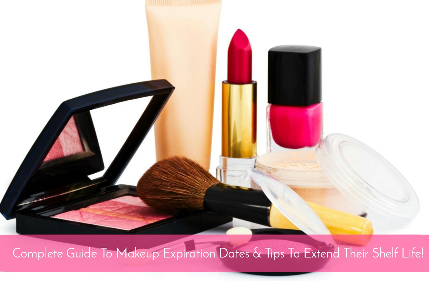 Complete guide to makeup expiration dates tips to extend for Shelf life of paint