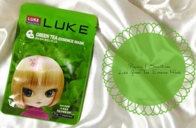 Luke Green Tea Essence Mask