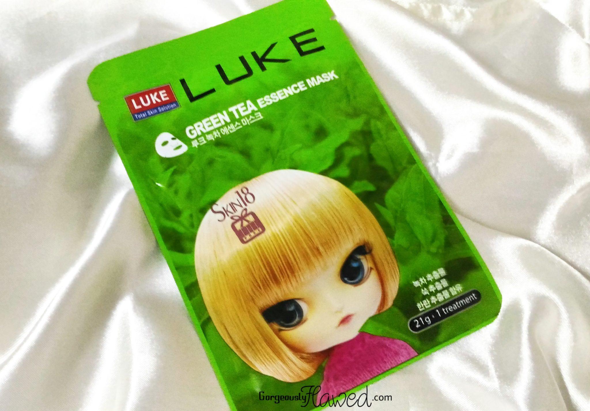 Luke Green Tea Essence Mask