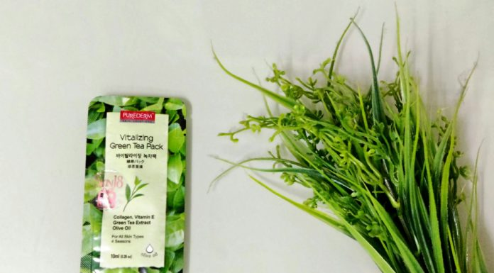 Purederm Vitalizing Green Tea Pack