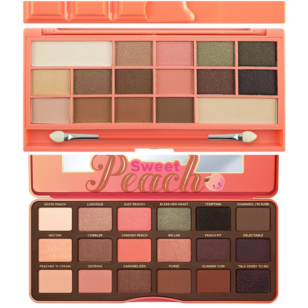5 Best Dupes For Too Faced Sweet Peach Eyeshadow Palette