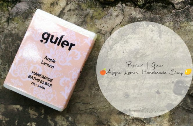 Guler Apple Lemon Handmade Soap
