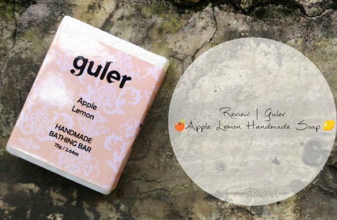 Guler Apple Lemon Handmade Soap