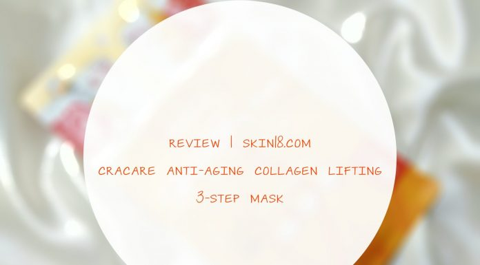 Cracare Anti-Aging Collagen Lifting 3-Step Mask