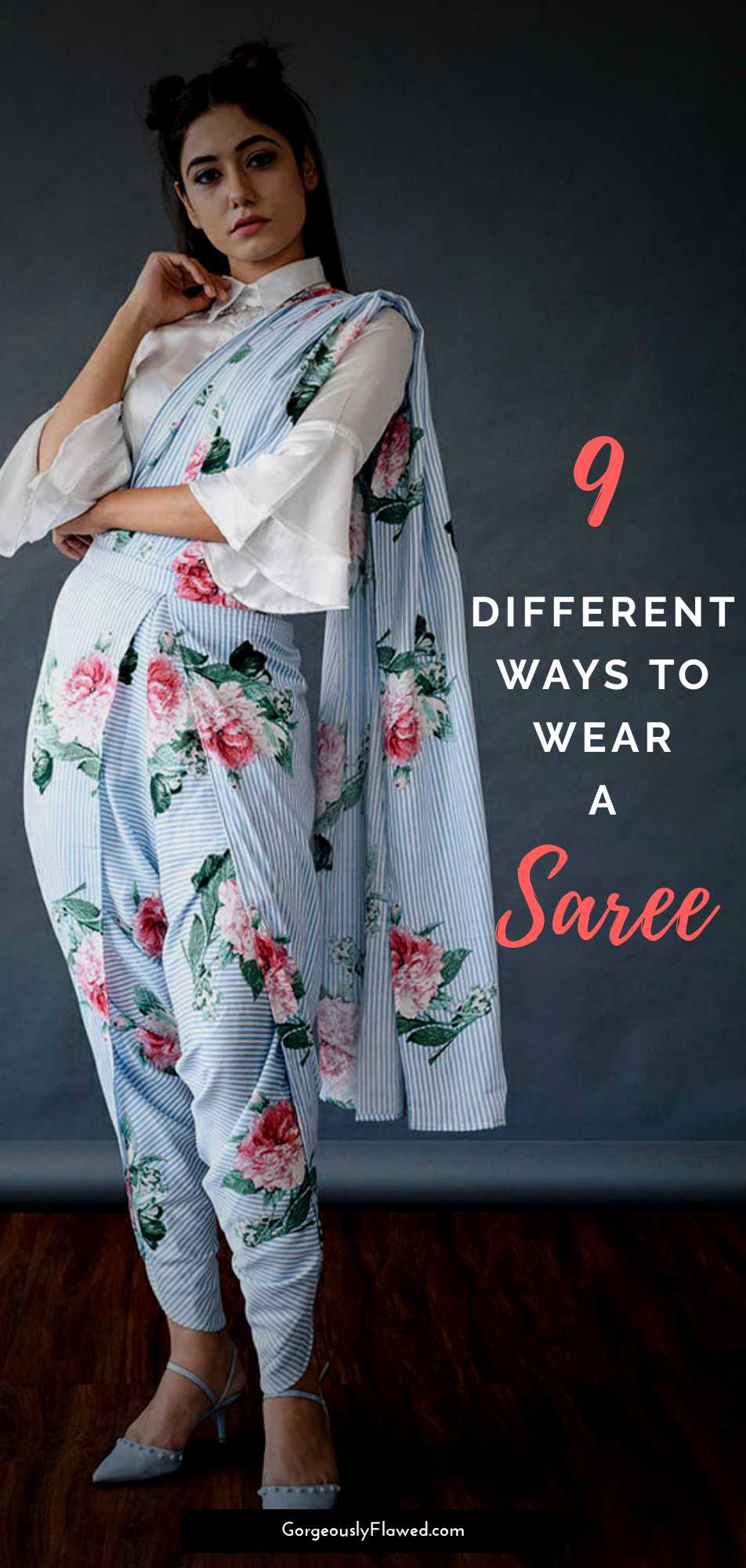 9 Different Ways To Wear A Saree