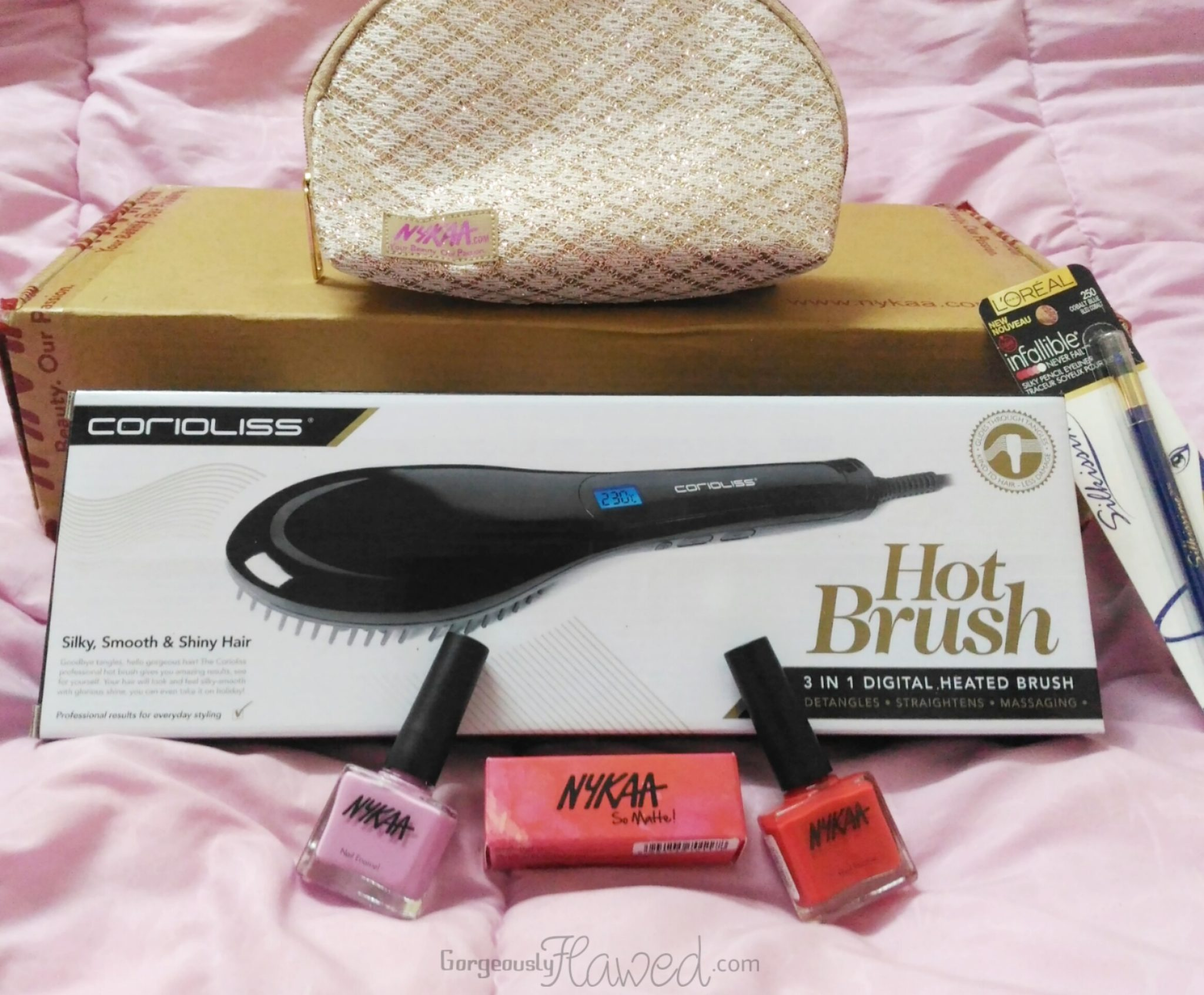 My Nykaa & Qtrove Christmas Sale Haul