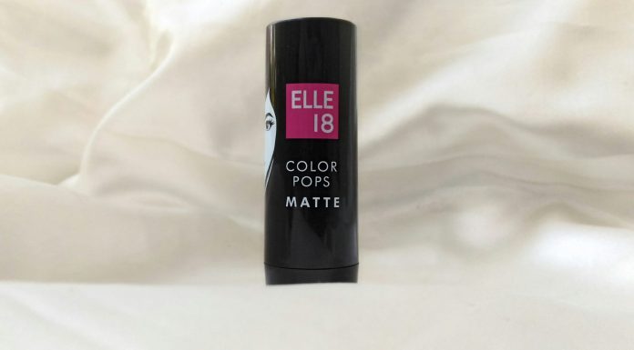 Review & Swatches | Elle 18 Color Pops Matte Lipstick Belgian Brown - Worth The Hype?