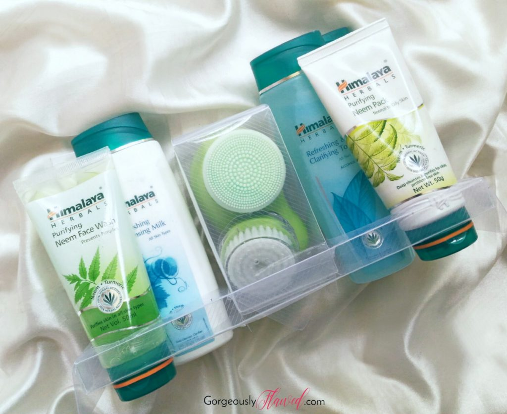 Review | Himalaya Herbals Pure Skin Neem Facial Kit With Face Massager