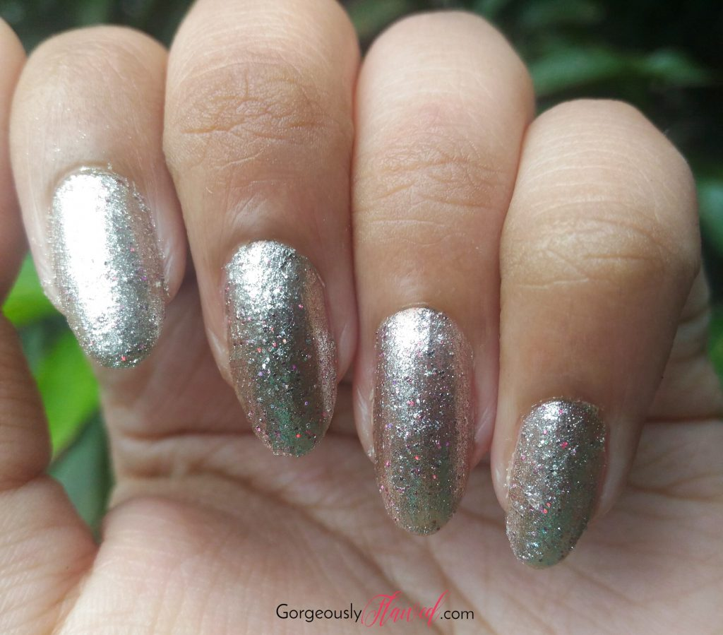 Review & Swatches | DeBelle Gel Nail Lacquer - Sparkling Dust