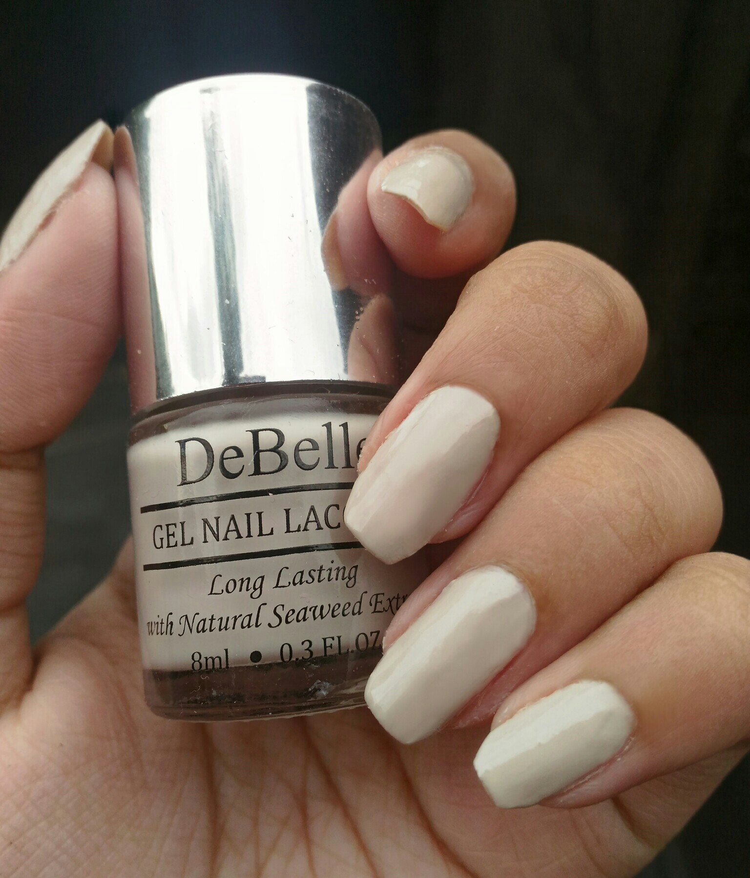 Review & Swatches | DeBelle Gel Nail Lacquer - Natural Blush