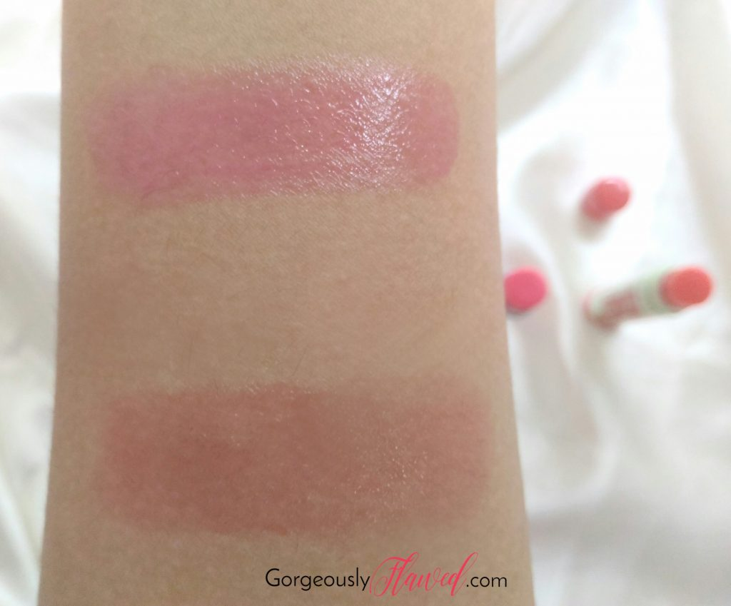 Review & Swatches | New Maybelline Baby Lips Lip Balm Candy Rush - Cotton Candy & Watermelon Pop