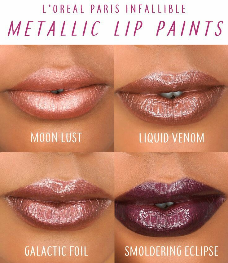 L Oreal Lip Paint Metallic