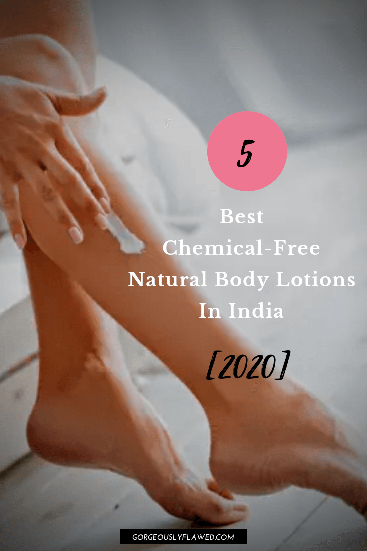 5 Best Chemical Free Natural Body Lotions For Dry And Sensitive Skin In India