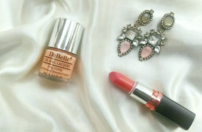 Review & Swatches   DeBelle Gel Nail Lacquer - Peachy Passion